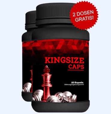 Kingsize Caps penis vergroessern Tabletten