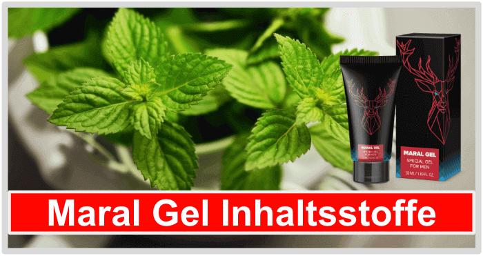 Maral Gel Inhaltsstoffe Wirkung Wirkstoffe