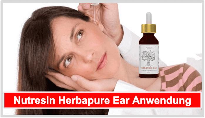 Nutresin Herbapure Ear Anwendung Dosierung