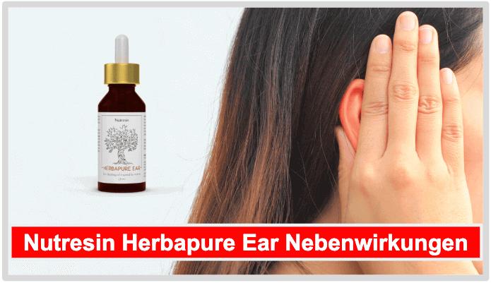 Nutresin Herbapure Ear Nebenwirkungen Risiken Unverträglichkeiten