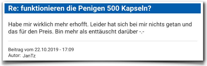 Penigen 500 Kritik Kundenbewertung Penigen 500