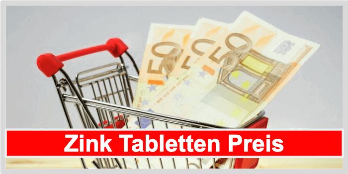 Zink Tabletten Preis