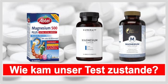 Magnesium Tabletten Test
