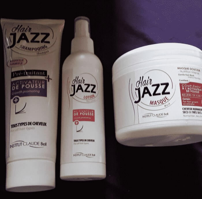 Hair Jazz Shampoo, Lotion und Maske