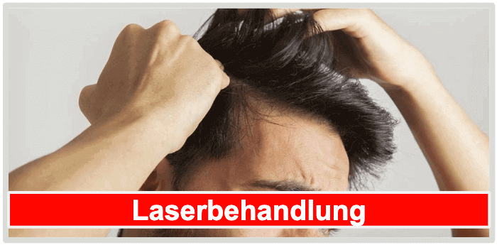 Haarwuchsmittel Alternativen Laserbehandlung
