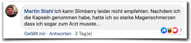 Slimberry Bewertungen Kritik Facebook