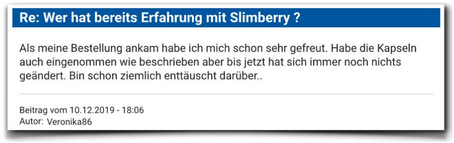 Slimberry Erfahrungsberichte Erfahrungen Slimberry