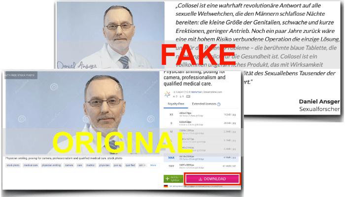 Collosel Fake Arzt