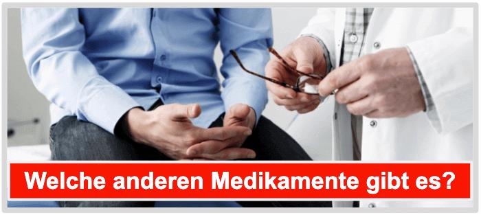 Potenzpillen Testosteronersatztherapie Alprostadil Urethralzäpfchen Selbstinjektion
