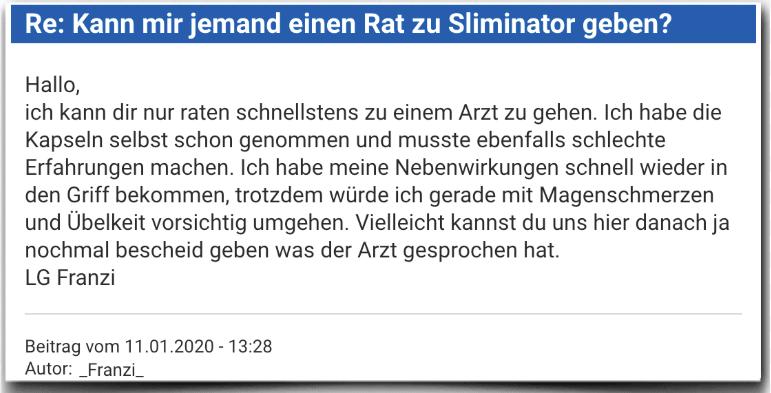 Sliminator Erfahrungsbericht Bewertung Kritik Sliminator
