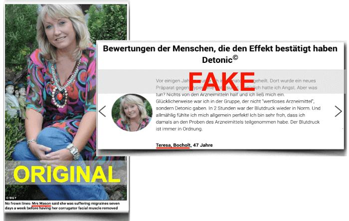 Detonic Fake Erfahrungsberichte