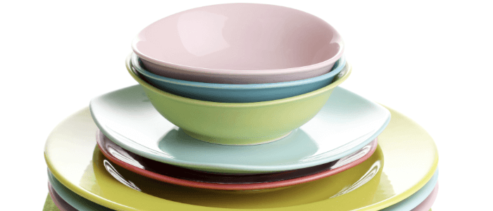 Teller richtig aufbauen kleinere Teller