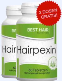 Hairpexin Abbild Tabelle