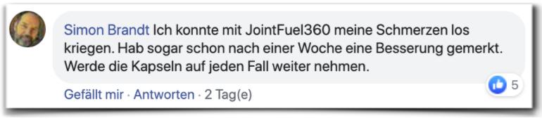 JointFuel360 Bewertungen Erfahrungen Facebook