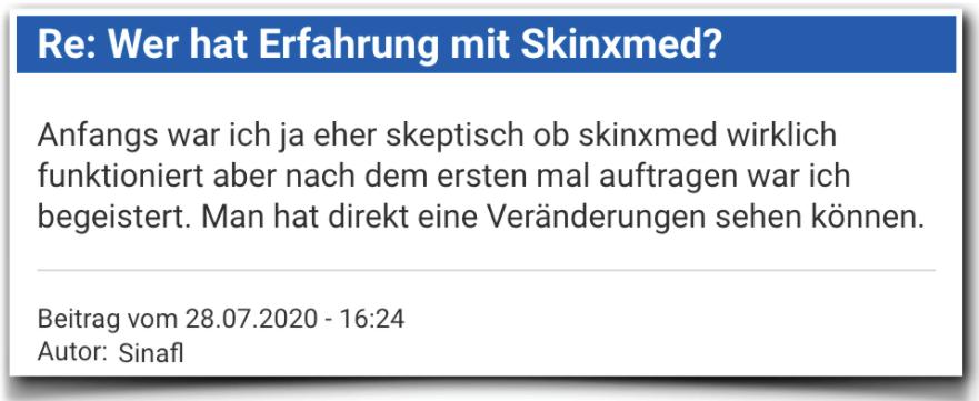 Skinxmed Erfahrungen Bewertungen