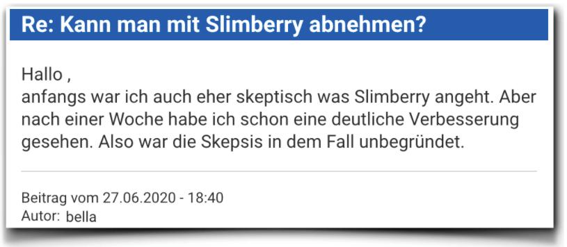 Slimberry Bewertungen Erfahrung
