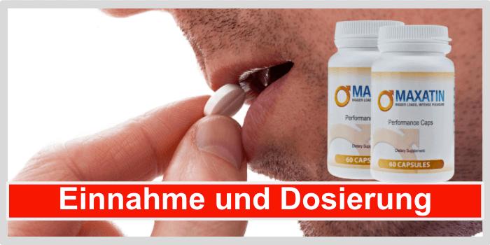 Maxatin Einnahme Dosierung Anwendung