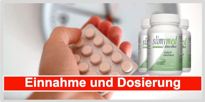 Slimymed Einnahme und Dosierung
