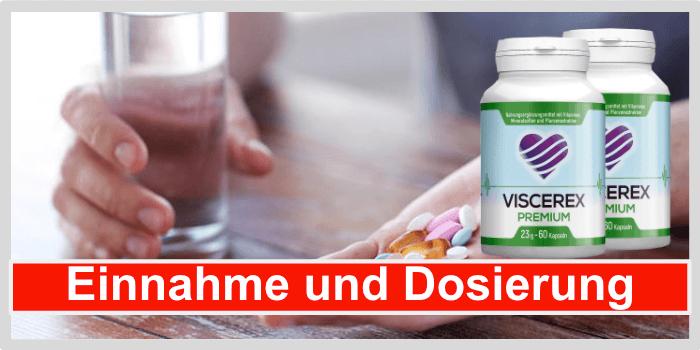 Viscerex Einnahme Dosierung Anwendung
