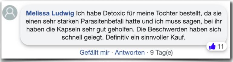 Detoxic Erfahrungen Erfahrungsberichte Bewertung
