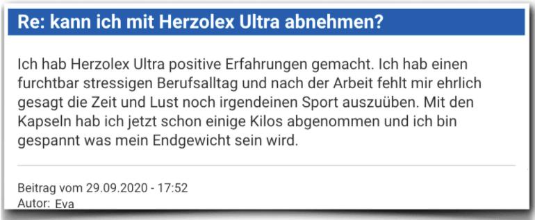 Herzolex Ultra Erfahrungsbericht Bewertung Kritik Herzolex Ultra