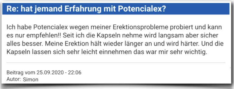 Potencialex Erfahrungsbericht Bewertung Kritik Potencialex