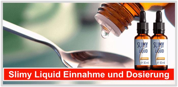 Slimy Liquid Einnahme Dosierung Anwendung