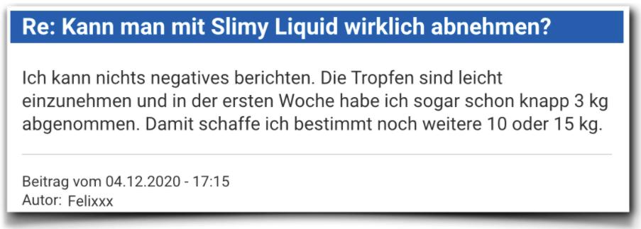 Slimy Liquid Erfahrungen Erfahrungsbericht Slimyliquid