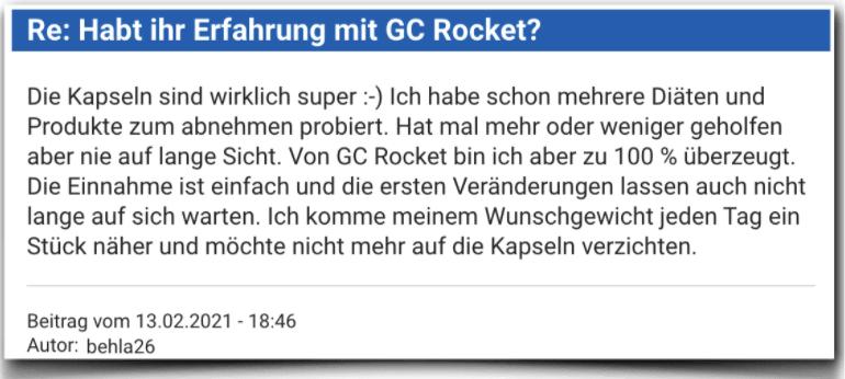 GC Rocket Erfahrungen Erfahrungsbericht Bewertung GC Rocket